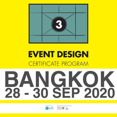 The Event Design Certificate Program