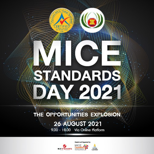 THAILAND MICE STANDARDS DAY 2021 x THAILAND MICE DAY 2021